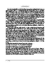 Đề tài Điều kiện về Tổ chức lãnh thổ ngành nông nghiệp
