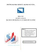Kinh tế - Chủ đề 3: Lãi suất