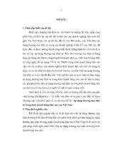Luận văn Áp dụng thương mại điện tử trong kinh doanh hàng lâm sản của Việt Nam