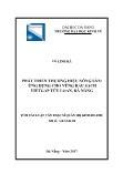 Luận văn Phát triển thương hiệu nông sản: Ứng dụng cho vùng rau sạch vietgap túy loan, Đà Nẵng