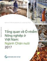 Tổng quan về ô nhiễm nông nghiệp ở Việt Nam: Ngành chăn nuôi 2017