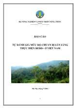 Tự đánh giá mức độ chuẩn bị sẵn sàng thực hiện Redd + ở Việt Nam