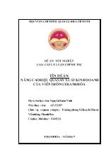Đề án Nâng cao hiệu quả sản xuất kinh doanh của viễn thông Thanh Hóa